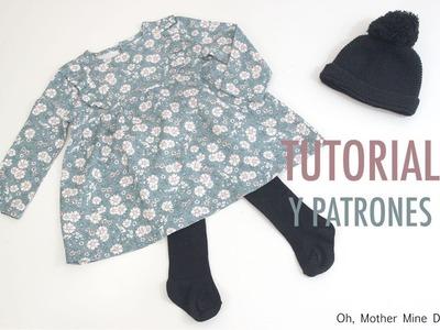 DIY Costura de vestidos para niñas (patrones gratis)