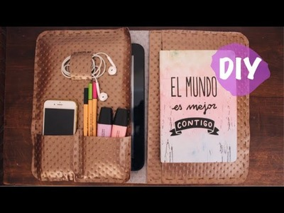 DIY FUNDA ORGANIZADOR PARA EL IPAD   HEYITSIRENEHERE