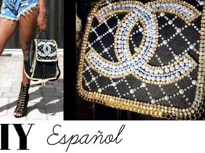 DIY Vuelta a clases Como decorar mochilas   DIY Cartera Inspirada en Chanel   ESPAÑOL
