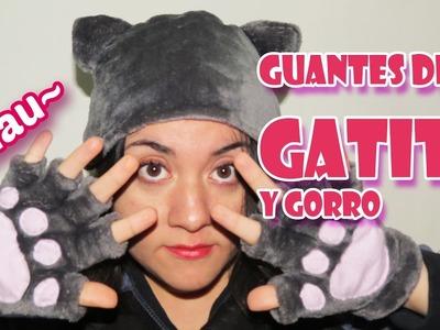 Guantes de Gato Para el Frío