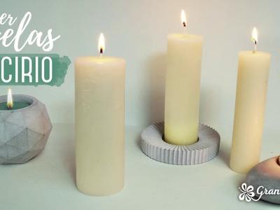 Hacer velas de cirio en casa