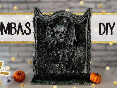 Halloween DIY decoración - Aprende a hacer TUMBAS fáciles