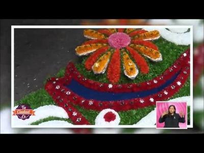 """¡Ay ojitos pajaritos!  Armando R. nos lleva a Iztacalco a conocer """"El Arte de las portadas Florales"""""""