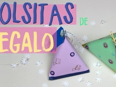 ????????¡¡ Aprende a hacer bolsitas de regalo faciles para cumpleaños o navidad!!????????