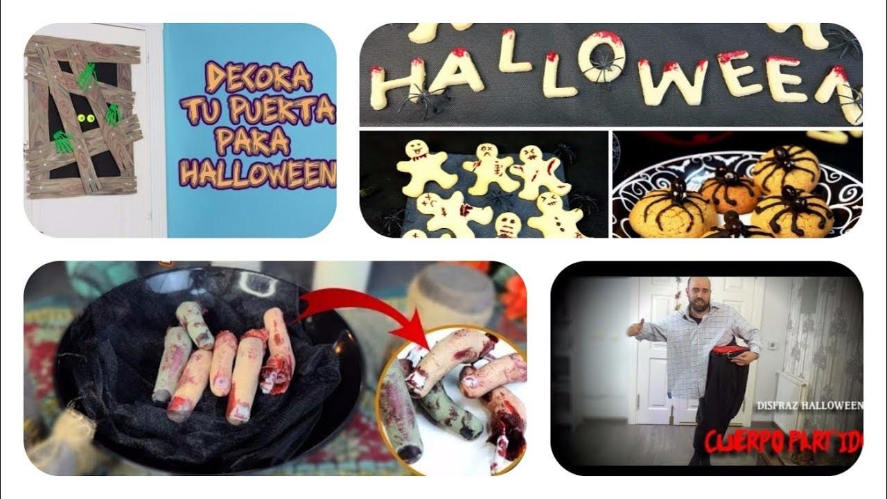 Increíbles Ideas DIY  para hacer en Halloween. Manualidades y disfraces para Halloween