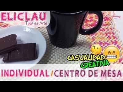 Individual o Centro de mesa .  Casualidad Creativa | Centerpiece .  Creative Chance  | EliClau