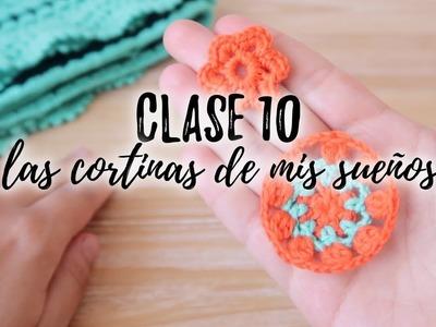 LAS CORTINAS DE MIS SUEÑOS : CLASE 10 | mini mandalas y mini flores, últimos retoques