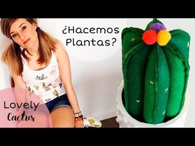 Lovely Cactus: Alfiletero de Fieltro y Materiales Reciclados ???? I Craftabulous