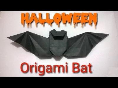 Origami Murcielago Halloween - Origami paper Bat