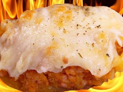 Papas rellenas y gratinadas con queso ¡DELICIOSAS!