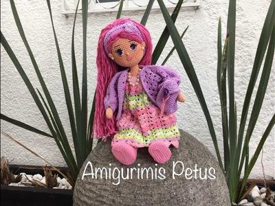 Piernas en crochet  muñeca Melany amigurumis Petus PRIMERA PARTE 1.9 amigurumi Doll