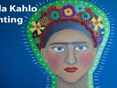 Pintura de Frida Kahlo paso a paso
