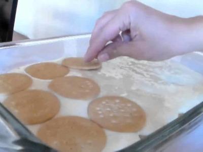 Postre  frio de limón,  primer vídeo de recetas!