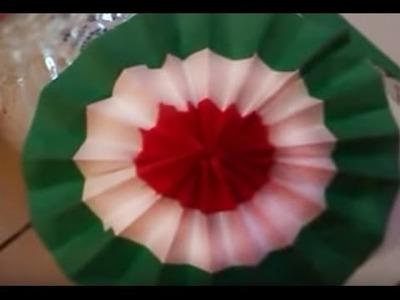 Roseta, escarapela adornos para fiestas patrias y toda ocasión