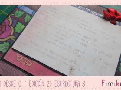 Scrapbooking: Álbum desde 0 - Estructura 3 ( Subtitulado)