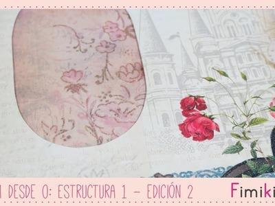 Scrapbooking Álbum desde 0 -  Estructura 1 (Subtitulado)