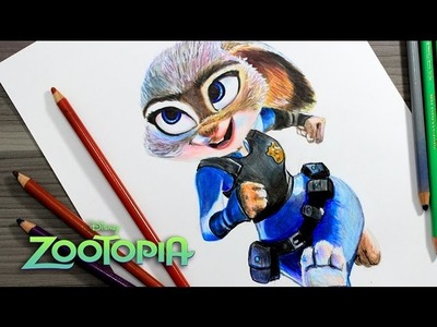 Speed Drawing Judy Hopps (Zootopia).Drawing zootropolis