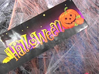 Te enseñamos cómo ambientar una fiesta de Halloween para adultos y niños.