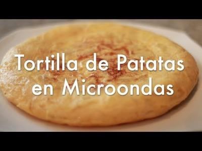 Tortilla de Patatas en Microondas Súper Fácil - Recetas de Cocina