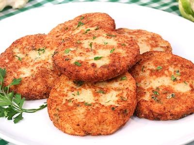 Tortitas de Coliflor | Receta Fácil y Rápida