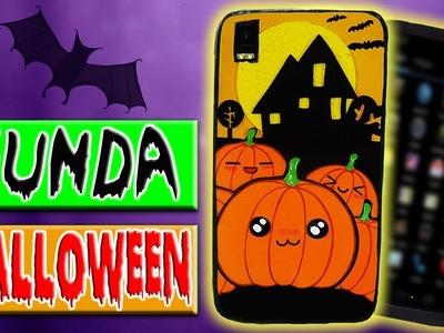 ???? Tutorial: Funda Calabazas Halloween || Mobile Case ????