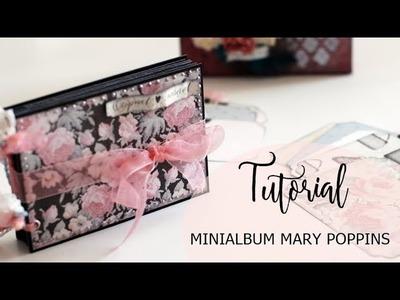 Tutorial Mini Album Mary Poppins -  La Tienda de las Manualidades