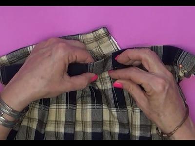 Como coser la Pretina. clase # 74 Alta Costura para NIÑOS