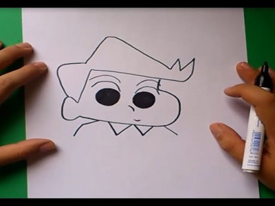 Como dibujar a Kazama paso a paso - Shin chan | How to draw Kazama - Shin chan