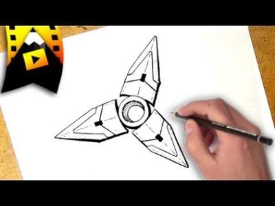 Como dibujar un spinner | how to draw a fidget spinner
