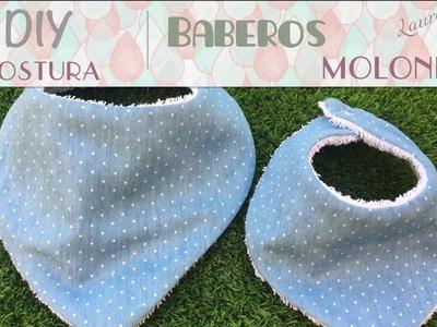 Como hacer baberos para bebé paso a paso ♥  Laura DIY