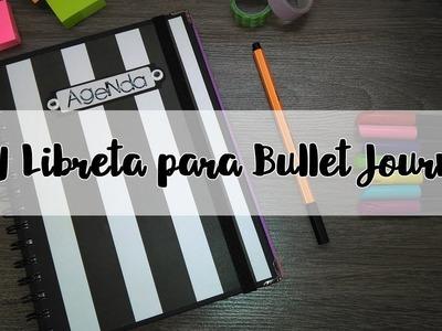 Como hacer Libreta. Cuaderno para Bullet Journal *AGENDA* - Brotes de Creatividad