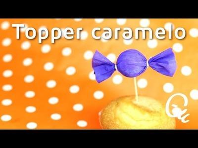 Cómo hacer un topper para tarta en forma de caramelo | facilisimo.com