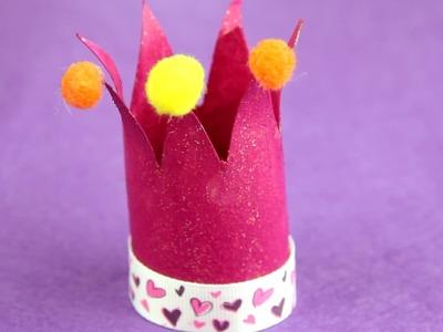 Cómo hacer una corona de princesa reciclando  facilisimo.com