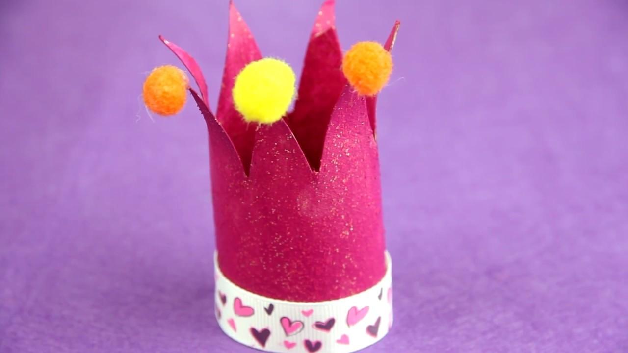 Cómo hacer una corona de princesa reciclando| facilisimo.com