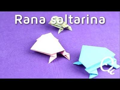 Cómo hacer una rana de papel con papiroflexia | facilisimo.com