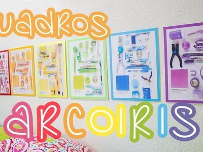 Decora tu habitación con CUADROS ARCOIRIS colaboración con Makeit. BigCrafts