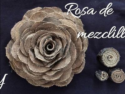 DENIM ROSE \ Rosa de Mezclilla