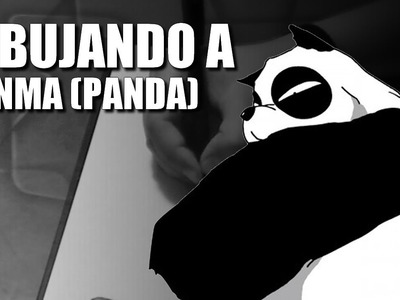 Dibujando a Genma Saotome (panda) - [RANMA 1.2]