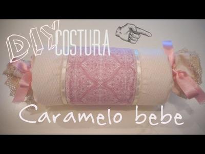 DIY Costura   Caramelo para bebe. Con M de Maternity