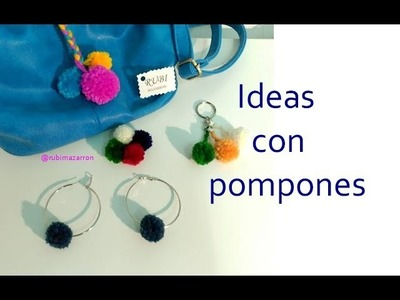 Diy. Ideas con pompones