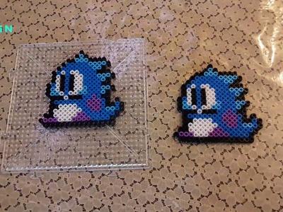 Dragon bubble bobble personajes del juego hama beads