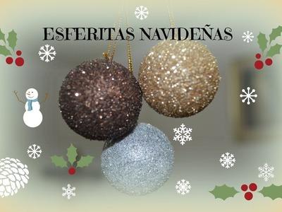 Esferas, Serie navideña, tutorial uno.