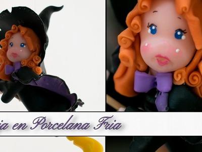 Especial Halloween - Bruja en Porcelana Fria (Parte I)