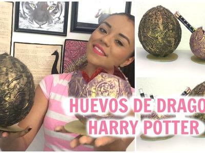 Haz tu huevo de dragon como los de HARRY POTTER - Brenda PE