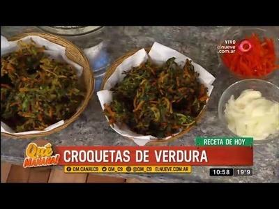 Receta de hoy: croquetas de verdura
