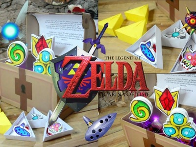 REGALO INTERACTIVO para mi novio - The Legend Of Zelda