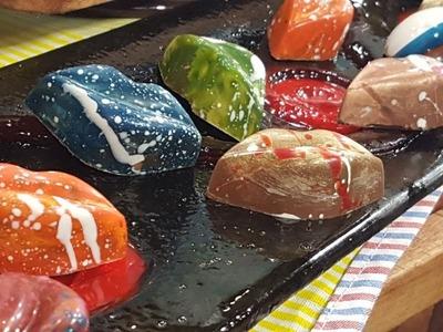 Show de decoración en caramelo