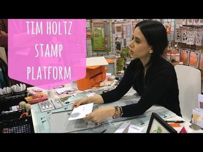 Stamp Platform de Tim Holtz (Español) Creativation 2017