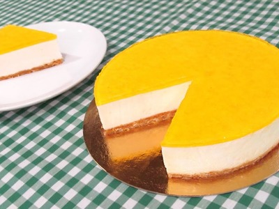 Tarta de Limón sin Horno | Cheesecake de Limón