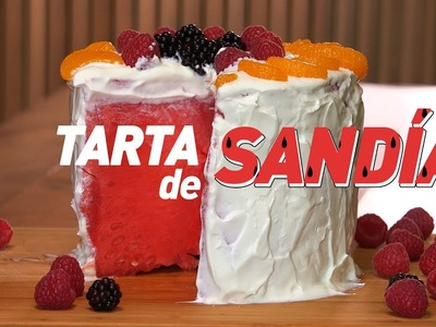 TARTA DE SANDÍA | Receta Light para el verano